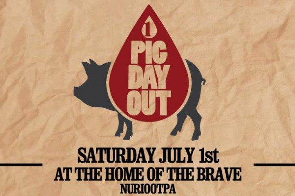 First Drop's Pig Day Out