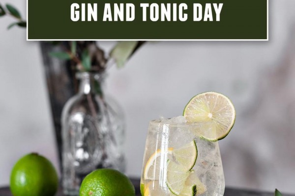 International Gin & Tonic Day