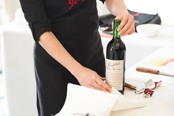 "Give your bottle of red a ""health check"""