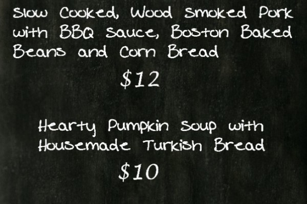 This Week's Specials at TCB