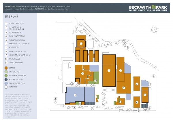 Beckwith Park Precinct Site Plan4