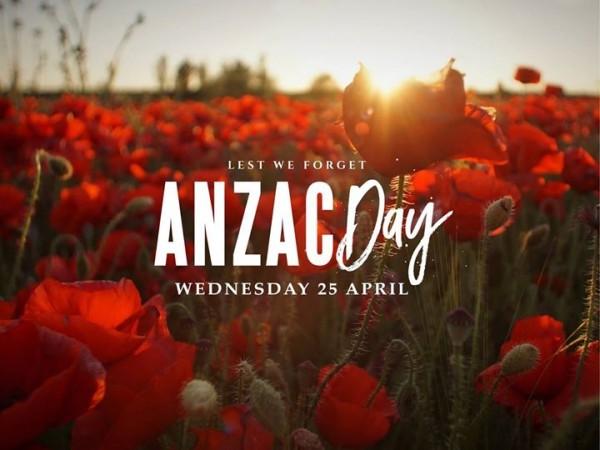 Anzac Day 25.04.2018