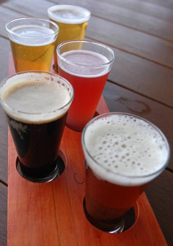 Beer Tasting Paddle 19.03.2018