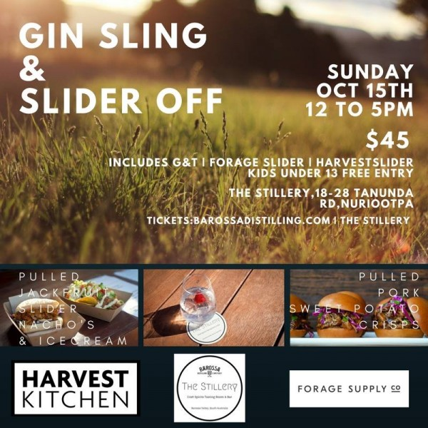 Gin Sling and Slider Off