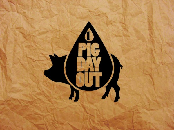 Pig Day Out Paper Bag Photo